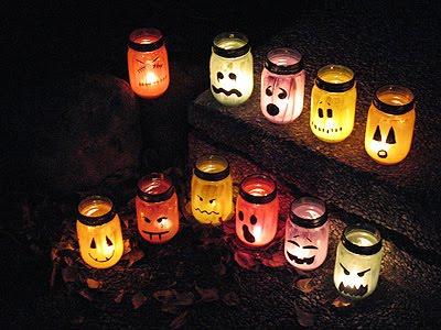 Halloween Inspired Luminaries