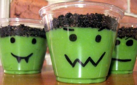 Frankenstein Halloween Treats For Kids