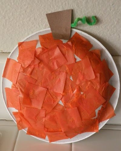 The Great Pumpkin Preschool Craft