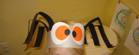 Spider Hat Preschool Halloween Crafts