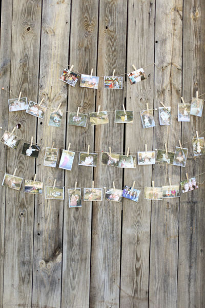 Natural Seed Packet Favor Idea