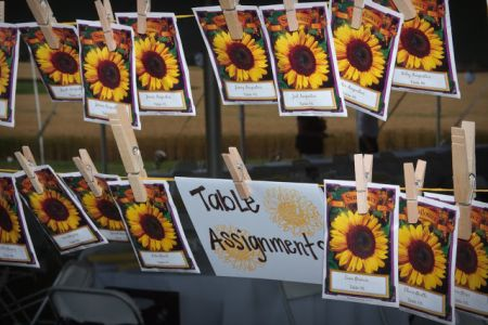 Seed Packet Favor Table Assignments