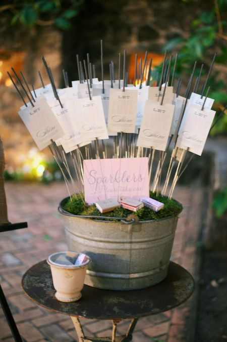 Personalized Sparklers For Wedding