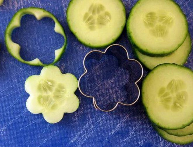 Cucumber Vegetable Appetizers