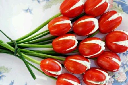 Tomato Vegetable Appetizers