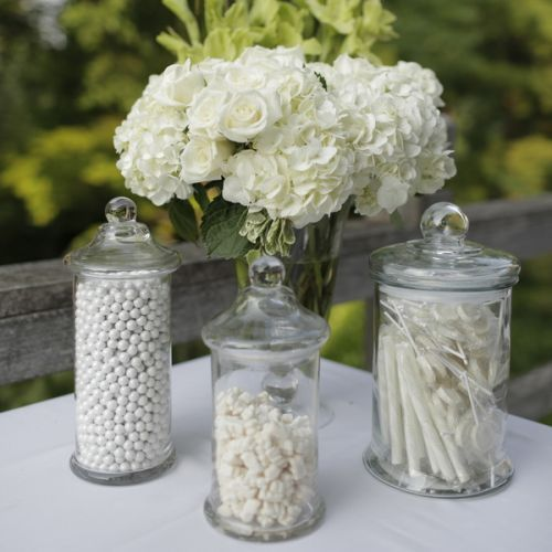 Wedding Candy Buffet Simple And White