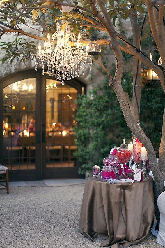 Wedding Candy Buffet Idea