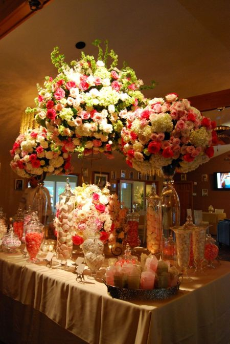 Wedding Candy Buffet Idea