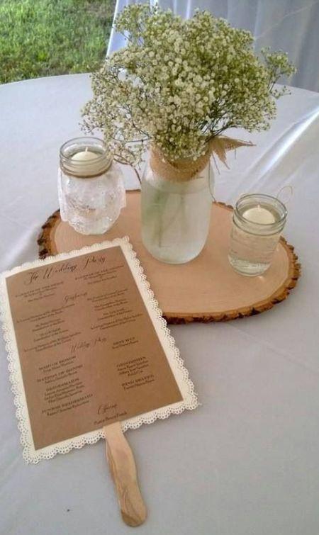 Wedding Fan Programs