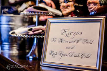 Unique Wedding Favor Koozies