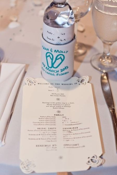 Wedding Koozie Presentation
