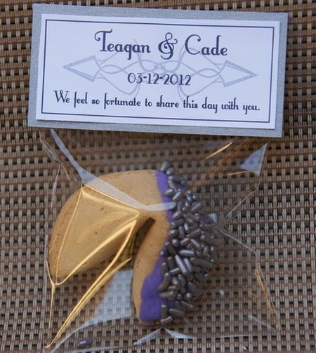 Wedding Fortune Cookie Favor