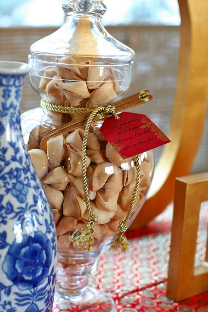 Wedding Fortune Cookie Jar