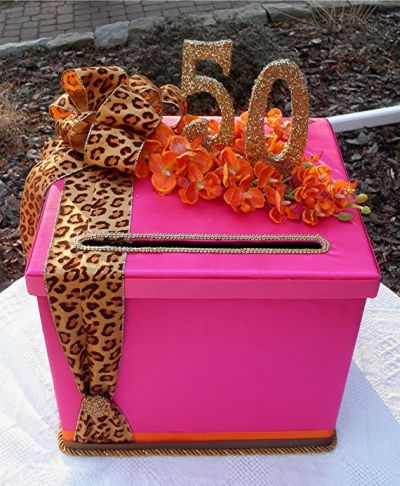 50th Birthday Cards Box