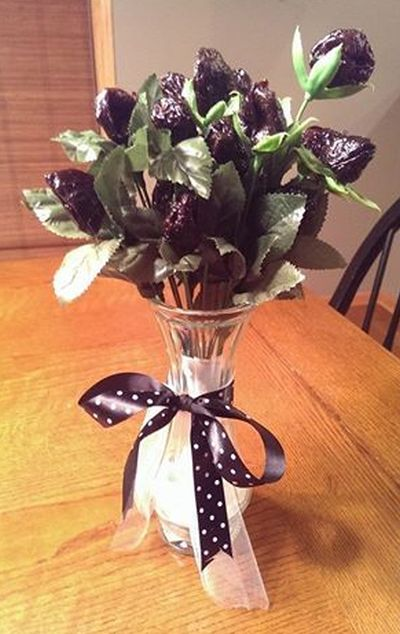 50th Birthday Gag Gifts Prune Arrangement