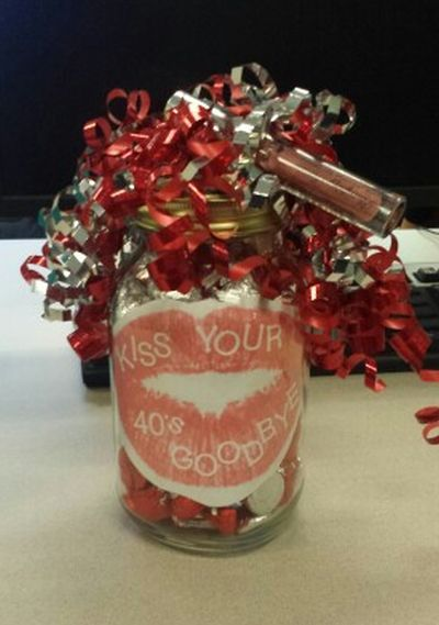 50th Birthday Gag Gifts Candy Idea