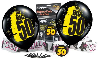 Nifty 50th Birthday Gag Gifts