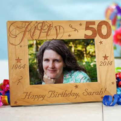 Personalized 50th Birthday Gift Idea
