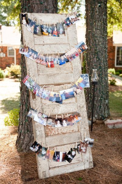 50th Birthday Party Decorations Photo Garland