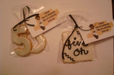 Cookie 50th Birthday Party Favors