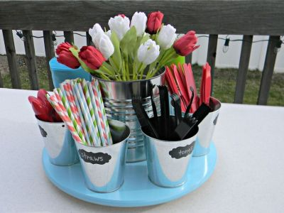 50th Birthday Party Supplies Idea