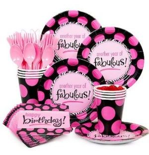 Fabulous 50th Birthday Party Supplies