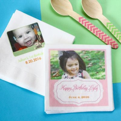 Personalized 50th Birthday Party Supplies