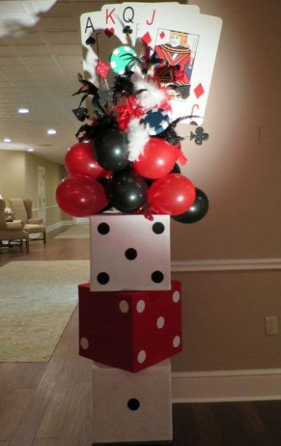 50th Birthday Party Themed Balloons