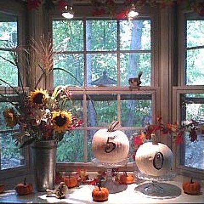 Autumn Themed 50th Birthday Party