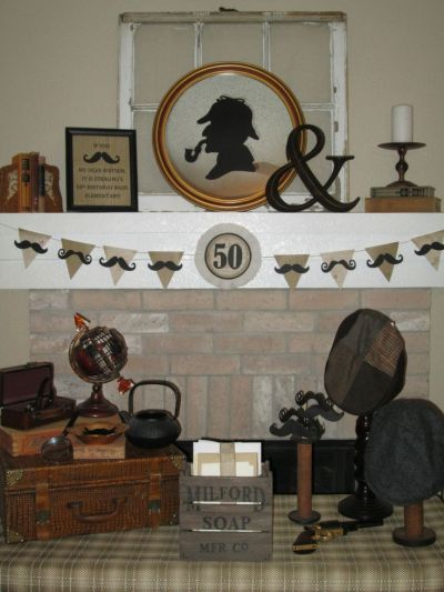 Mystery Themed 50th Birthday Party