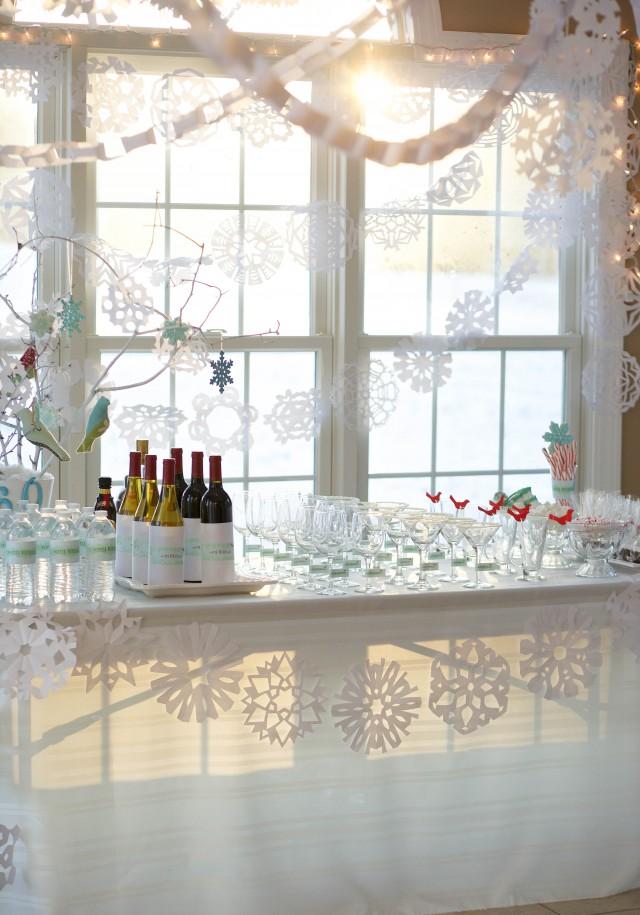 White 50th Birthday Party Theme