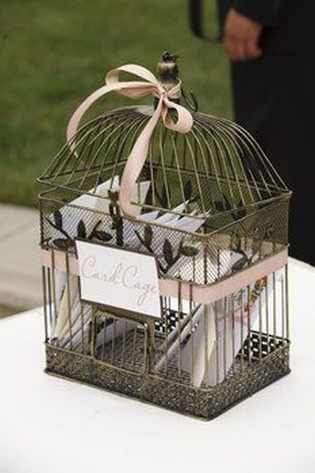 80th Birthday Card Cage