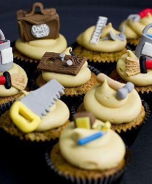 80th Birthday Cupcakes Handyman