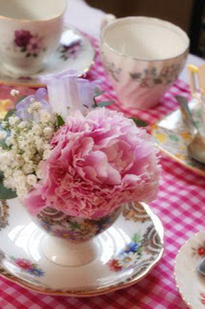 80th Birthday Decorations Teacup