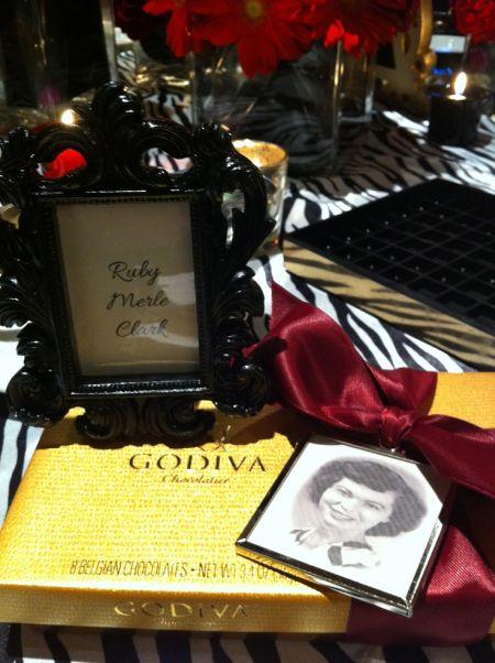 80th Birthday Party Favors Photo Presentation