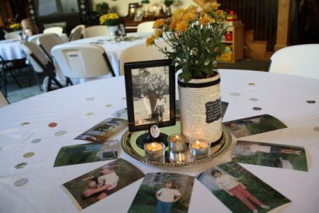 80th Birthday Party Suggestions Photo Centerpiece