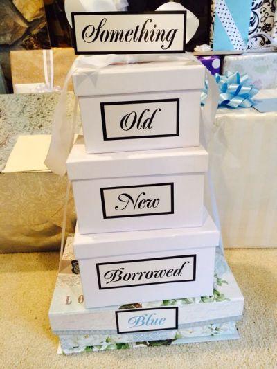 Wedding Gift Ideas Something Blue : Inspirational Bridal Shower Gift Ideas