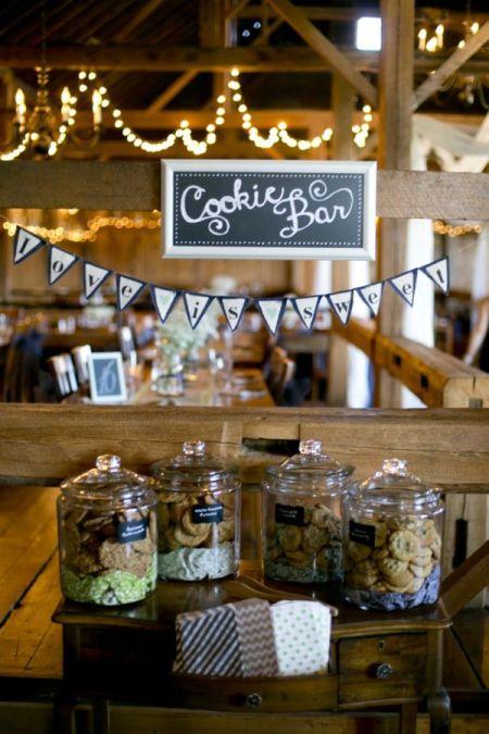Sweet Cookie Bar Wedding Favor Idea