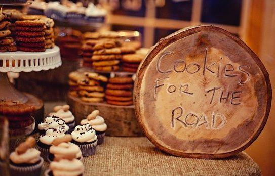 Unique Cookie Bar Wedding Favors