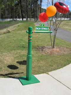 Sesame Street Sign For Elmo Birthday Party
