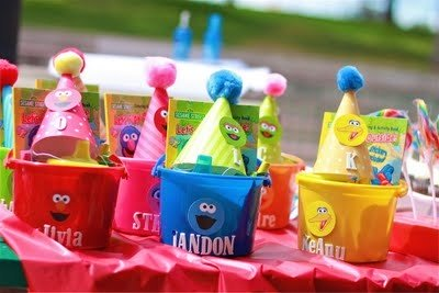 First Boy Birthday Party Favor Pails