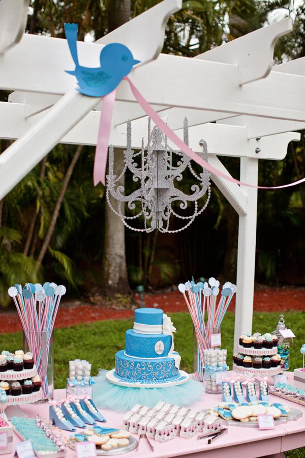 Cinderella First Girl Birthday Party