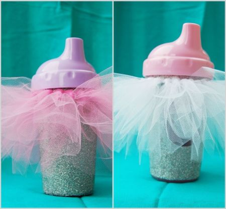 First Girl Birthday Sippy Cups