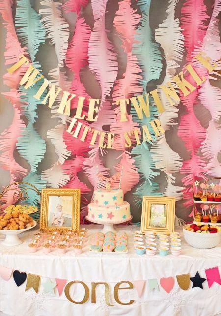 First Girl Birthday Theme