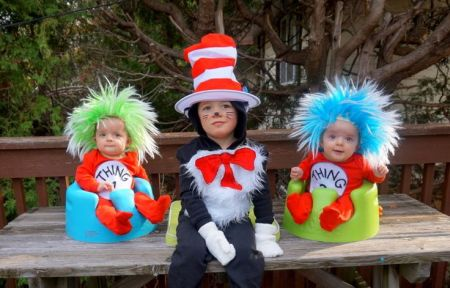 Dr. Seuss Kid Halloween Costumes
