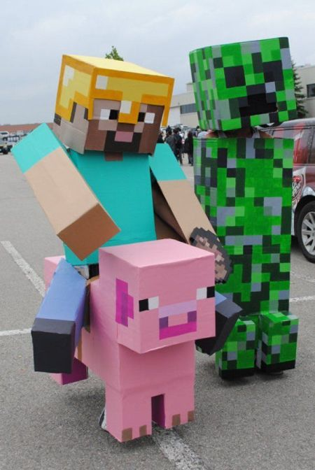 Minecraft Halloween Costumes