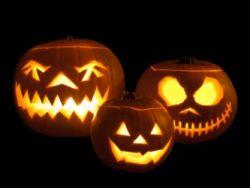 Halloween Jack-o-lantern Famil;y