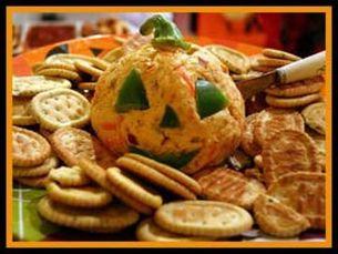 Cheeseball Halloween Appetizers