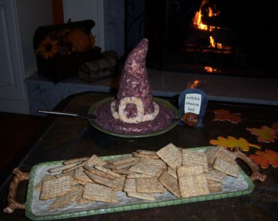 Witches Hat Halloween Appetizers