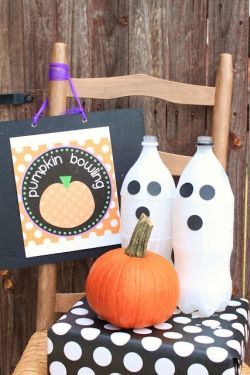 Pumpkin Bowling Halloween Kids Games